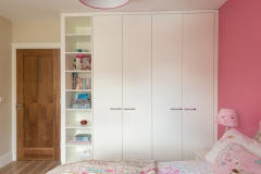 Built in Wardrobe with shelves