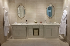 beautiful custom vanity